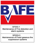 Bafe 2303-1 and 2303-3 logo